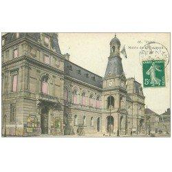 carte postale ancienne PARIS 14. La Mairie 1910