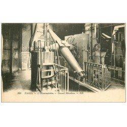 carte postale ancienne PARIS 14. Observatoire Parc Montsouris Grand Méridien