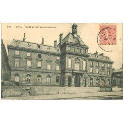 carte postale ancienne PARIS 15. La Mairie du XV Arrondissement 1906