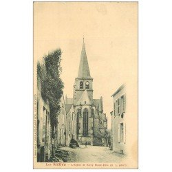 carte postale ancienne 10 LES RICEYS. Eglise de Ricey-Haute-Rive vers 1900