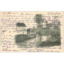 carte postale ancienne 10 LES RICEYS. Moulin de Ricey-Haute-Rive 1903