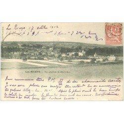carte postale ancienne 10 LES RICEYS. Vue générale Ricey-Bas 1902