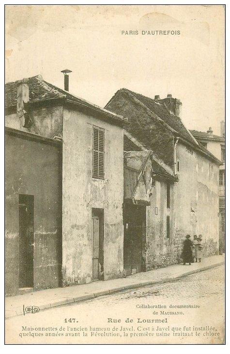 Paris 15 rue de lourmel ancien hameau de javel for Ancienne maison close paris