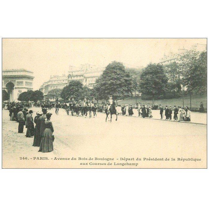 PARIS 16 Avenue du Bois de Boulogne départ Président de  ~ Manoir Bois De Boulogne