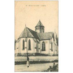 carte postale ancienne 10 MAILLY-LE-CAMP. L'Eglise
