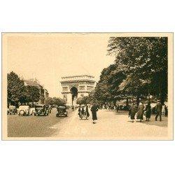 carte postale ancienne PARIS 16. Avenue Foch