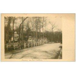 carte postale ancienne PARIS 16. Bois de Boulogne. Ferme au Pré Catelan