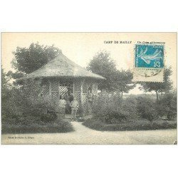 carte postale ancienne 10 MAILLY-LE-CAMP. Un Coin Pittoresque 1923