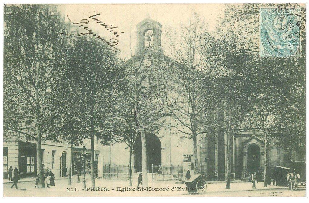 Paris 16 eglise saint honor d 39 eylau place victor hugo 1905 - Hotel victor hugo paris 16 ...