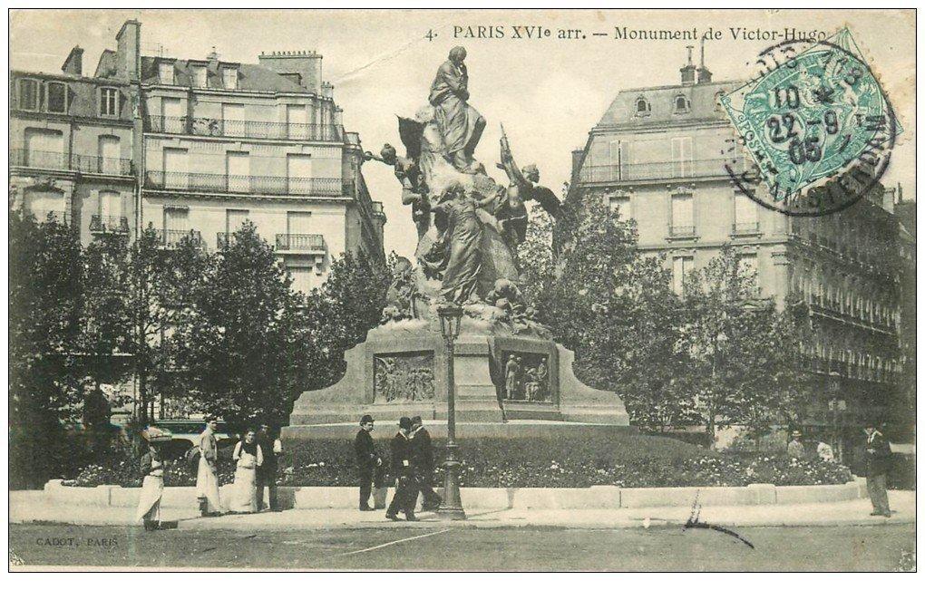 Paris 16 monument de victor hugo 1905 animation - Victor hugo paris 16 ...