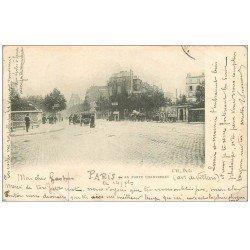 carte postale ancienne PARIS 17. La Porte Champerret 1902