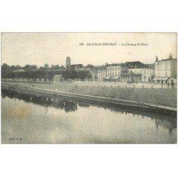 carte postale ancienne 02 CHATEAU-THIERRY. Le Champ de Mars 1914