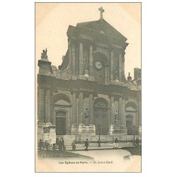 carte postale ancienne PARIS Ier. Eglise Saint-Roch n°69