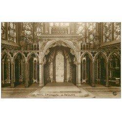 carte postale ancienne PARIS Ier. La Sainte Chapelle le Reliquaire
