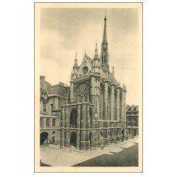 carte postale ancienne PARIS Ier. La Sainte Chapelle n°1
