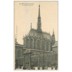 carte postale ancienne PARIS Ier. La Sainte Chapelle n°28
