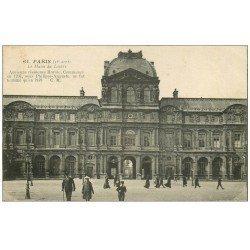 carte postale ancienne PARIS Ier. Le Musée du Louvre 61