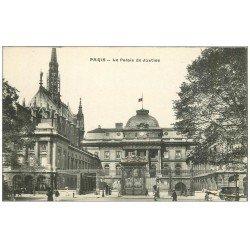 carte postale ancienne PARIS Ier. Le Palais de Justice