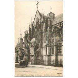 carte postale ancienne 10 TROYES. Eglise Saint-Urbain