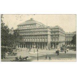 carte postale ancienne PARIS Ier. Le Théâtre Français 1904
