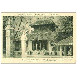 carte postale ancienne EXPOSITION COLONIALE INTERNATIONALE PARIS 1931. Indochine Annam