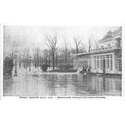 carte postale ancienne INONDATION DE PARIS 1910. Restaurant Ledoyen. Collection Taride
