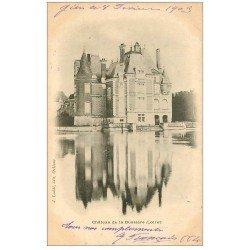 carte postale ancienne 45 CHATEAU DE LA BUSSIERE 1903