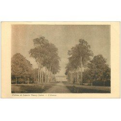 carte postale ancienne 45 CHATEAU DE LAMOTTE VIMORY LOIRET. Avenue