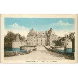 carte postale ancienne 45 CHATEAURENARD. Le Château