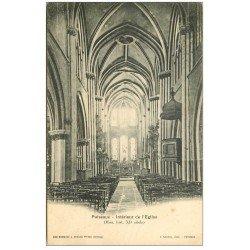 carte postale ancienne 45 PUISEAUX. Eglise 1914