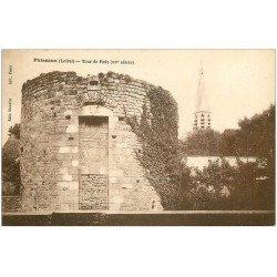 carte postale ancienne 45 PUISEAUX. Tour de Rely 1926