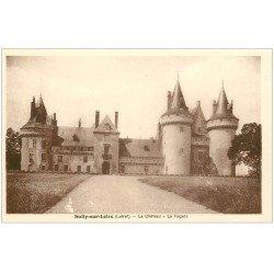 carte postale ancienne 45 SULLY-SUR-LOIRE. Château façade