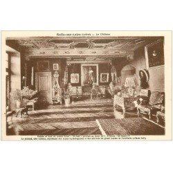 carte postale ancienne 45 SULLY-SUR-LOIRE. Château Grand Salon