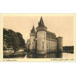 carte postale ancienne 45 SULLY-SUR-LOIRE. Château n°22