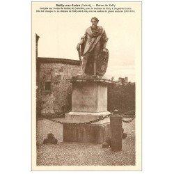 carte postale ancienne 45 SULLY-SUR-LOIRE. Statue de Sully