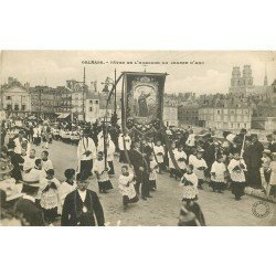 carte postale ancienne 45 ORLEANS. Lot intéressant de 10 CPA aux environs de 1910 n 35