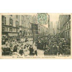 carte postale ancienne 45 ORLEANS. Lot intéressant de 10 CPA aux environs de 1910 n 43