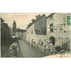 carte postale ancienne 64 ARUDY. Lavandières Laveuses aux Lavoirs vers 1908