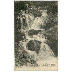 carte postale ancienne 64 ASCAIN SARE. Cascades de Pierre Loti 1927