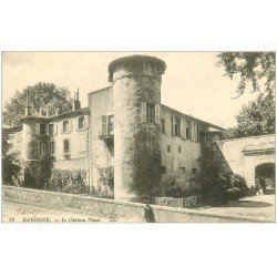 carte postale ancienne 64 BAYONNE. Le Château Vieux noté uniquement 1907