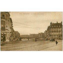 carte postale ancienne 64 BAYONNE. Les Ponts sur la Nive vers 1933