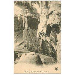 carte postale ancienne 64 BETHARRAM. Grottes. La Chaire
