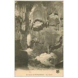 carte postale ancienne 64 BETHARRAM. Grottes. La Cloche