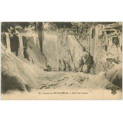 carte postale ancienne 64 BETHARRAM. Grottes. Salles des Lustres
