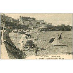 carte postale ancienne 64 BIARRITZ. Casino Belle-Vue 1911