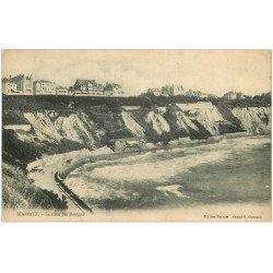 carte postale ancienne 64 BIARRITZ. Côte des Basques
