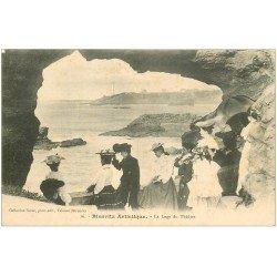 carte postale ancienne 64 BIARRITZ. La Loge du Théâtre