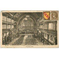carte postale ancienne 64 SAINT-JEAN-DE-LUZ. Eglise où se maria Louis XIV