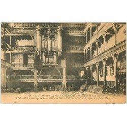 carte postale ancienne 64 SAINT-JEAN-DE-LUZ. Orgues Eglise Saint-Jean-Baptiste