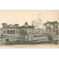 carte postale ancienne 64 SALIES-DE-BEARN. Casino et Kiosque à musique n°59